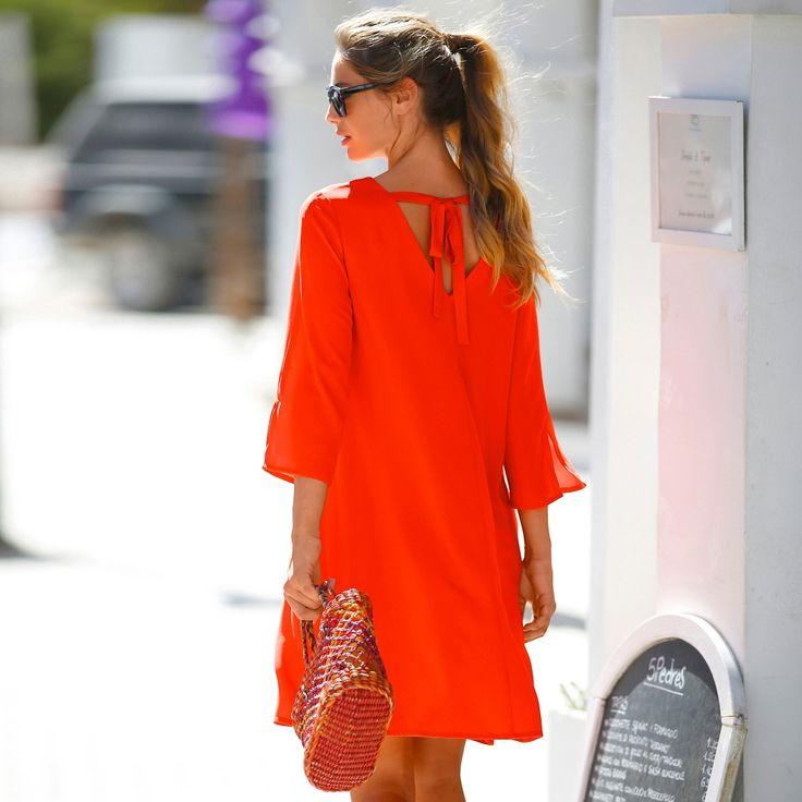 Robe décolleté dos Blancheporte, la bonne coupe, les détails féminins en plus.