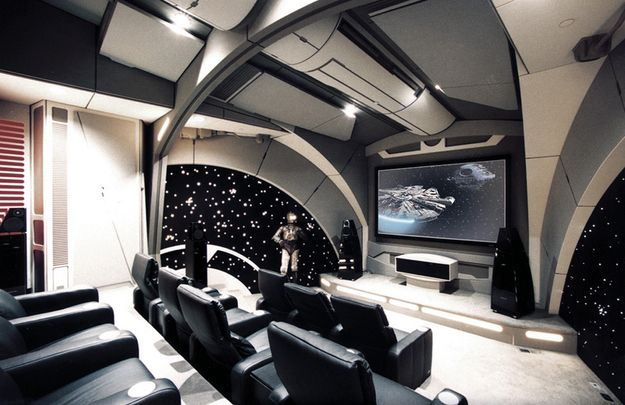This Death Star theater: