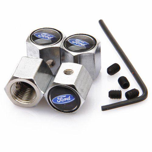 Black Ford Anti-theft Chrome Car Wheel Tire Valve Stem Caps - http://www.caraccessoriesonlinemarket.com/black-ford-anti-theft-chrome-car-wheel-tire-valve-stem-caps/  #Antitheft, #Black, #Caps, #Chrome, #Ford, #Stem, #Tire, #Valve, #Wheel #Enthusiast-Merchandise, #Ford