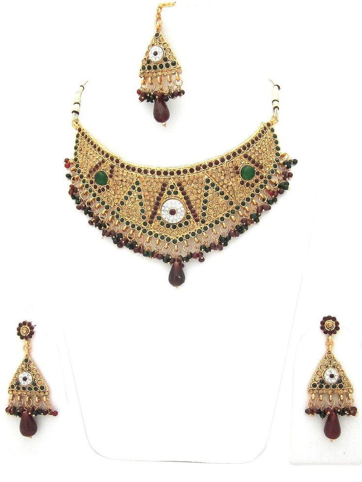 17 best images about get latest indian jewellery on for Mogul interior designs