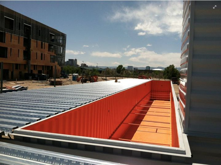 Corvus Design Build Container Pool at Taxi Denver