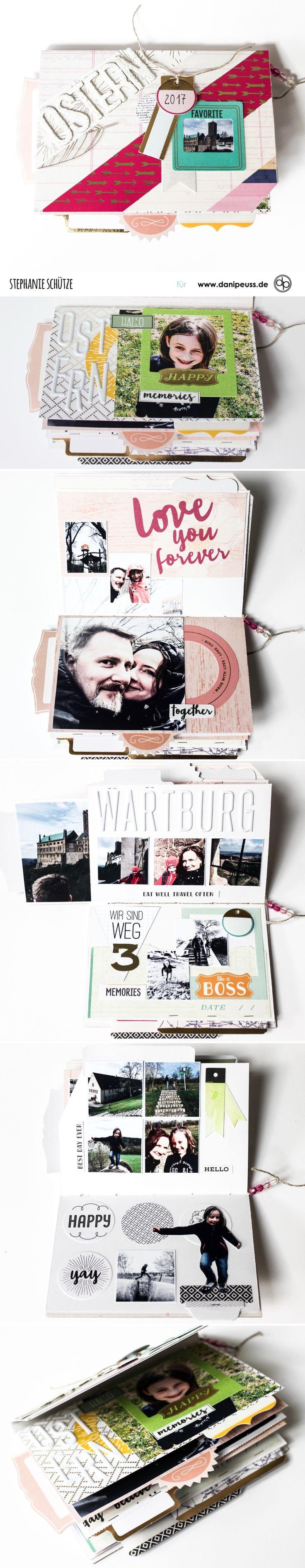 Aufklapp-Album - Oster-Familien-Urlaub | mit dem Junikit | von Stephanie Schütze für www.danipeuss.de