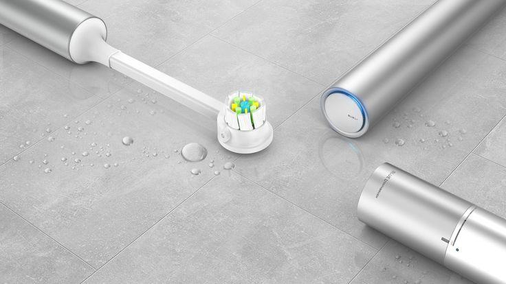 """내 @Behance 프로젝트 살펴보기: """"Blue L toothbrush _Portable Electric Toothbrush[2015]"""" https://www.behance.net/gallery/45880637/Blue-L-toothbrush_Portable-Electric-Toothbrush2015"""