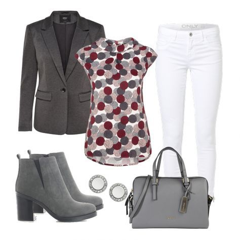 Business Outfits: GreyRed bei FrauenOutfits.de