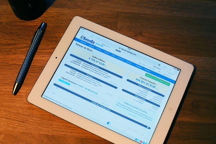 SalenGo sur Ipad - ou comment facturer facilement vos clients.