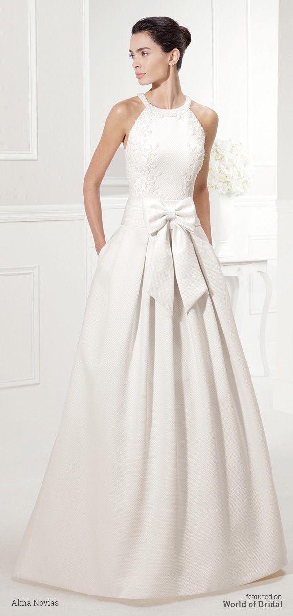 Alma Novias 2016 Wedding Dress