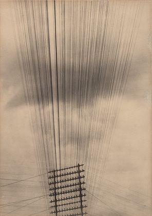 Tina Modotti. Telegraph Wires. c. 1925.
