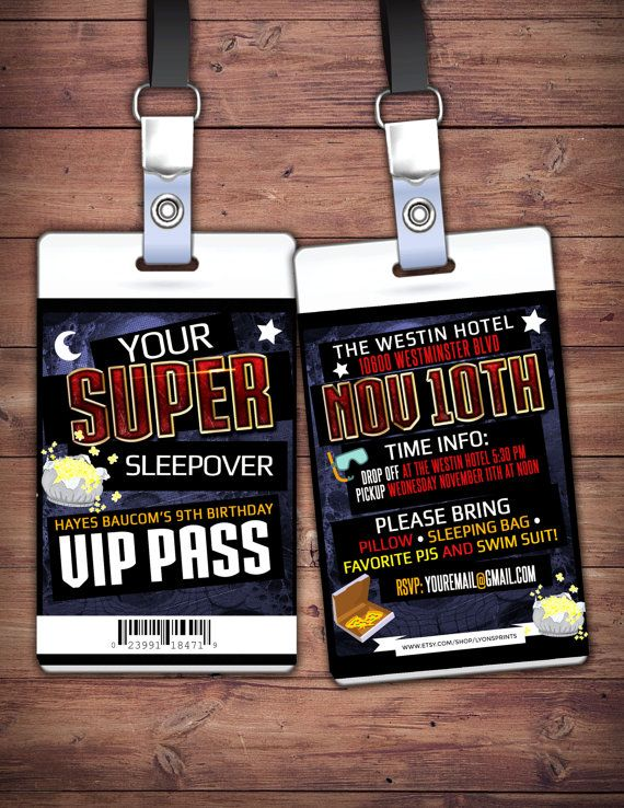 Best 25 boy sleepover ideas on pinterest boy party games 9th sleepover party invitation boy birthday by lyonsprints on etsy stopboris