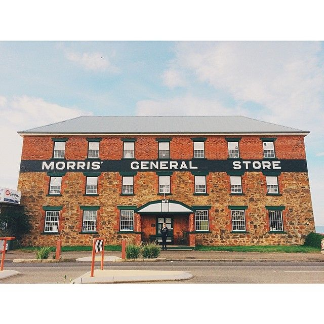 The Morris' General Store in Swansea has been owned and run by the Morris family for over 100 years. #swansea #tasmania #discovertasmania Image Credit: jaredbazley