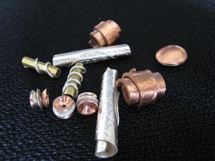 Collection of #metal #beads by #ZaZing  www.zazing.co.nz