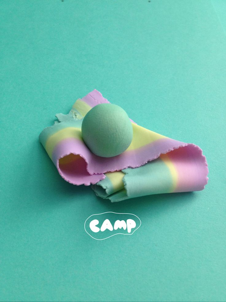 Candy Pastel Tricolour Flag Brooch by CampJewellery on Etsy