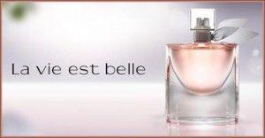 """850 échantillons de parfum Lancôme """"La vie est belle"""" tous les jours !    http://rienquedugratuit.ca/echantillon-gratuit/parfum-lancome-vie-est-belle/"""