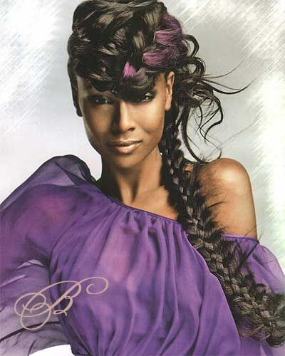 African American Fishtail Braid Hairstyles
