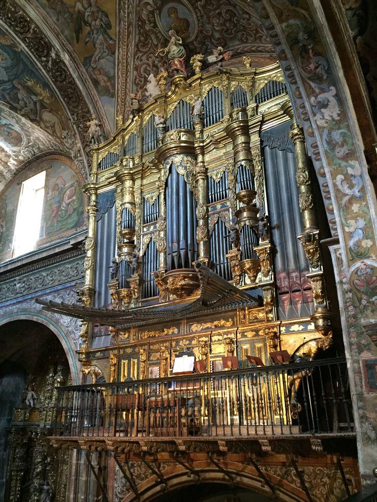 Órgano de la iglesia de Santa María (Los Arcos-Navarra, España)