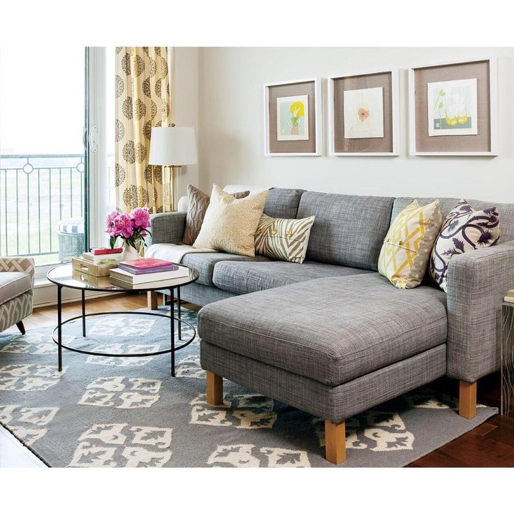 Living room - colour, fabric & shape of couch