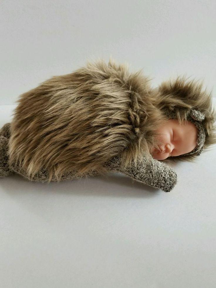 """Anne Geddes Baby Hedgehog Stuffed Plush Doll 12"""" #AnneGeddes #Dolls"""