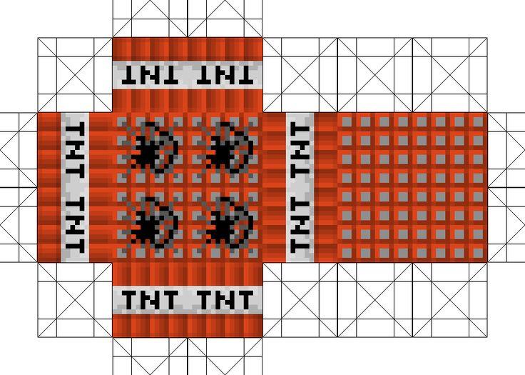 minecraft tnt block template - minecraft tnt printables bing images