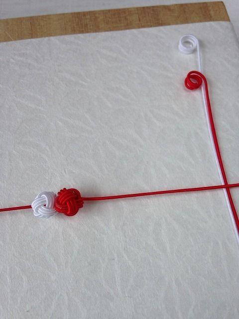 あわじ玉とも呼ばれる水引飾り「縁むすび」水引を通してのし紙を結びつけたり、カードに貼ってもかわいい大きさは約1cmの球10個入りセット※通す水引は別売りです