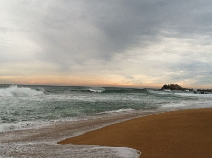 Playa Reñaca is a popular surfing beach in Chile.
