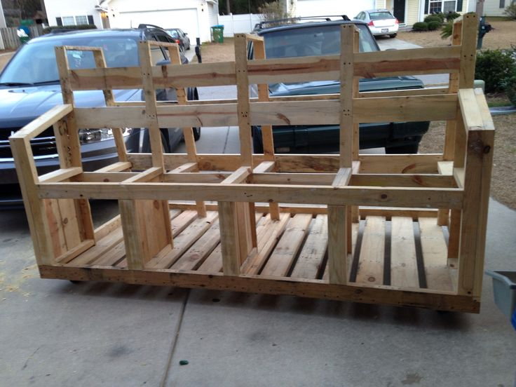 Mobili pallet ~ 9 best mobile lumber storage rack using all pallet wood images on
