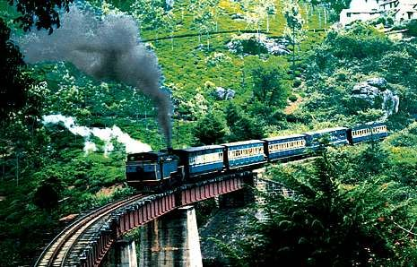 The train between Ooty (Ootacamund) and Coimbatoor, Sth. India - great ride!