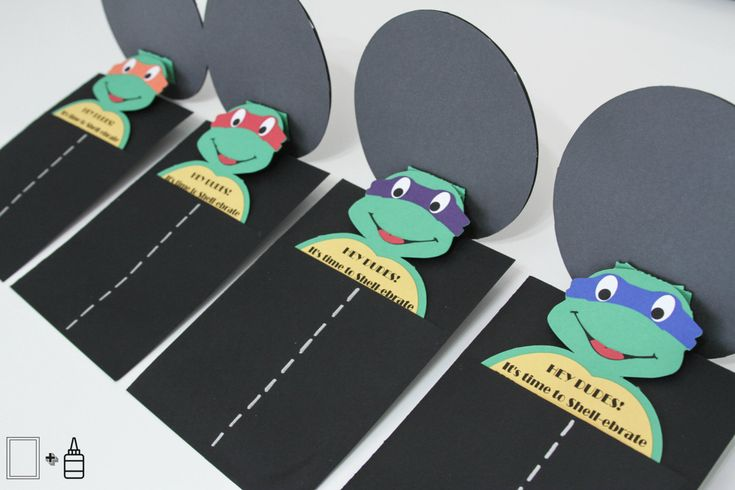 If your little one is insisting on having a TMNT-themed birthday, these invitations are the perfect way to invite your guests over to celebrate their birthday!  These cards can be used as invitations, thank you cards, or even personalized greeting cards! Party Packs are available upon request. For custom orders, please contact us so we can tailor a listing to your specific request. {WHATS INCLUDED} • 5x7 Teenage Mutant Ninja Turtle Character Invitations • A7 Envelopes. (Optional) {ORDERING…