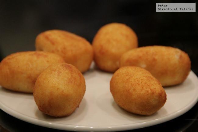 Receta de las croquetas de Echaurren de Francis Paniego con cantidades adaptadas para su elaboración doméstica, el chef nos da el truco de sus...