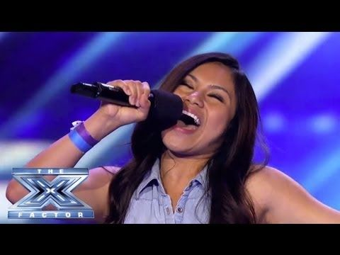 """Ellona Santiago Spreads Her """"Wings"""" - THE X FACTOR USA 2013"""