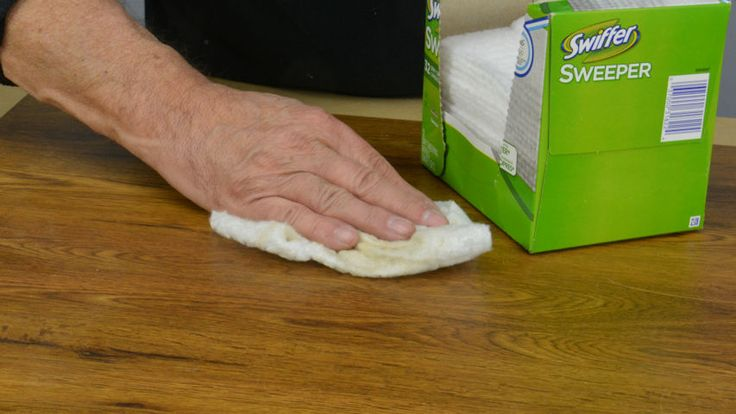 Getting the dust off before you paint or varnish or otherwise finish, is very important to getting a nice smooth clean finish. An option that works quite well is to us Swiffer cloth for the bottom of Swiffer floor dusters. These work very well and can be used over and over. When they get a bit dusty I mine outside and give it a few good shakes and the bulk of the dust flies off and it is ready to go again. #woodworking #DIY