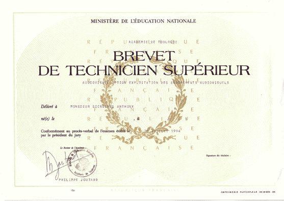 Diplome-BTS