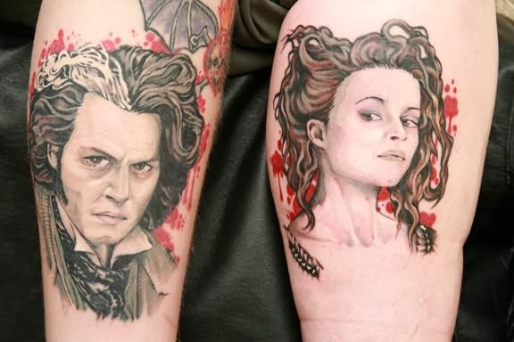 Encuentra las mejores fotos de diseños de tatuajes para parejas que están enamoradas. Ideas de tatuajes para novios originales, selecciona tu tattoo ahora!