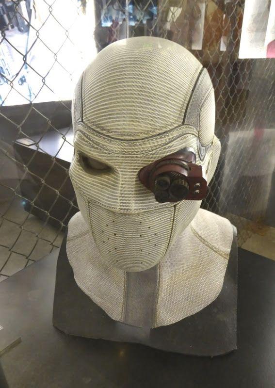 Suicide Squad Deadshot mask with monocle detail