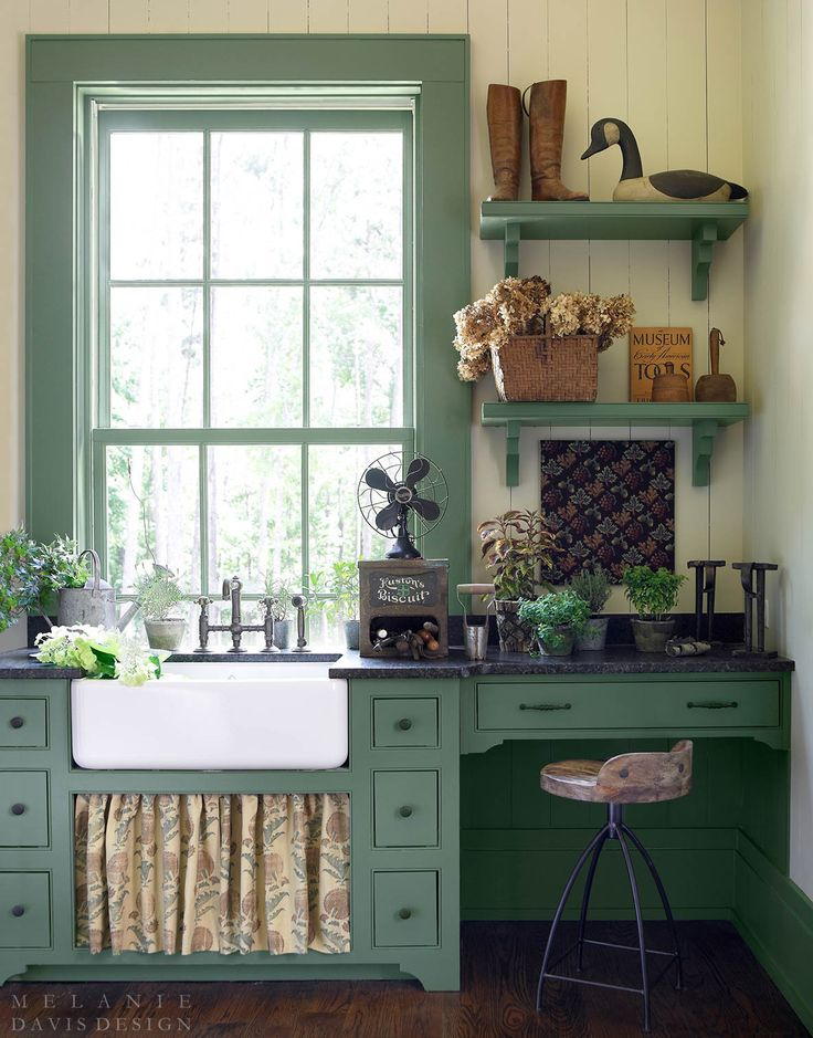 1916 best shabby chic kitchens images on pinterest - Farmhouse interior color schemes ...