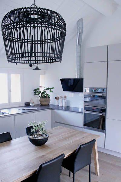 réalisations : Rénovation cuisine, Aubonne, Severine Piller Design