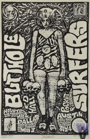 Butthole Surfers, Ed Hall, Pocket Fishrmen at the Opera House in1990  I still love these bands!