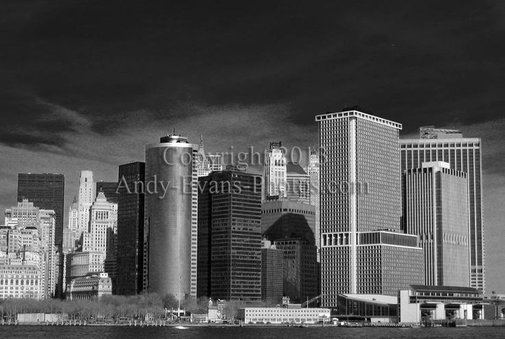 New York City, Manhattan Skyline, USA photograph picture poster art print photo