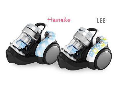 「Hanako」・「LEE」とコラボしたキュートなデザインのサイクロン式掃除機