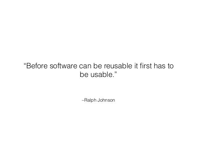 """Before software can be reusable it first has to be usable"" - Ralph Johnson  Know more about Software Development: http://goo.gl/TeZxiC   To initiate a project on custom software development with NoeticSystems.co.in feel free to contact us."
