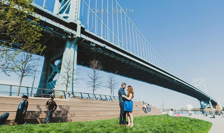 Fresh Off The Press!  Maura & Colins Old City Philadelphia engagement session which frequents the waterfront & the oldest residential street in America.  Check it out :)  www.cary-smith.com  #csmp #csmphotography #theknot #weddingwire #love #brides #fearless #phillybride #photo #weddingphotographer #weddingphotography #southjerseywedding #southjerseyweddingphotography #philadelphia #1776