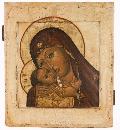 Russian icon, 4 part icon, dated 1833