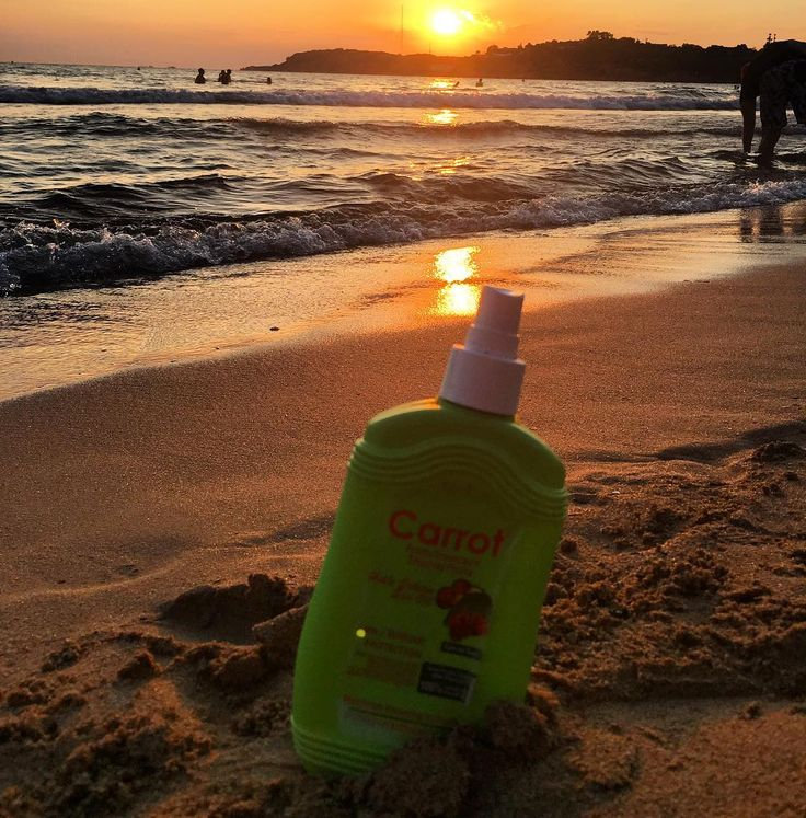 #tropical #fruit #carrotsun experience the #exotic #smells so #good u can almost eat it! #henna #vitamins #gold #tan ☀️ #sunset #vouliagmeni #astir #beach #southbeach  #rosinaperfumery #athens #glyfada #mykonos #lebanon #london #shoponline