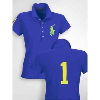 Polo Ralph Lauren Womens Big Pony Blue