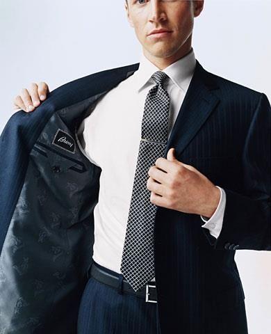Итальянский деловой мужской костюм спб