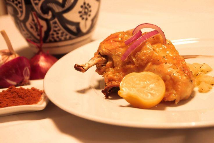 Le fameux poulet au citron à l'huile d'argan Pour 6 personnes Difficulté: facile
