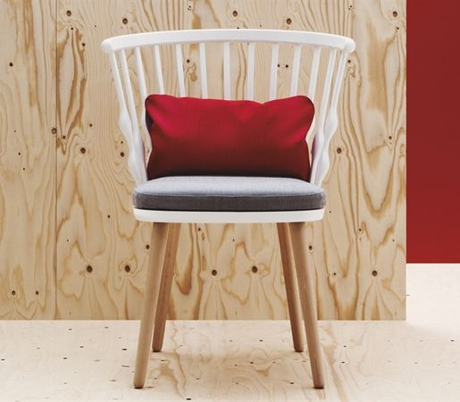 Nub by Andreu World | The Nub is an attractive and unique collection of chairs…