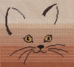 A Touch of Cat (N04) for Needlepoint