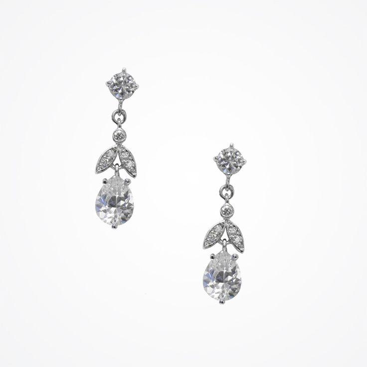 Leaf earrings by Stephanie Browne: Silk Earrings, Drop Earrings, Brown Jewellery, Leaf Earrings, Stephanie Brown