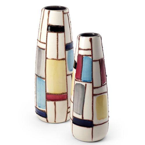 143 best strehla veb keramik gdr germany images on for Mondrian vase
