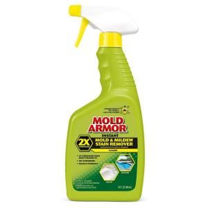 THIS PRODUCT IS AMAZING for removing mold from tile grout! Simply spray, leave room for 10-15 mins, & rinse. That's it! Sold at Home Depot & Lowes...I always have to ask where it is because it's not with the cleaning supplies.