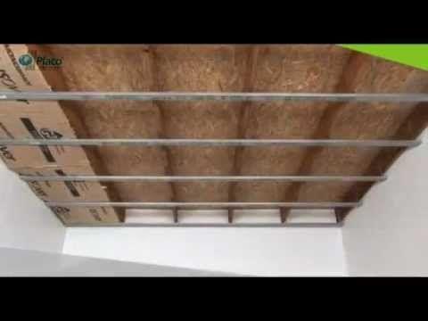 Les 25 meilleures id es de la cat gorie faux plafond placo sur pinterest plafond en placo - Faire un plafond en placo avec suspente ...